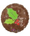 "PALLONCINO HAPPY HOLIDAY PZ.1 MYLAR TONDO 18"" CM.45"
