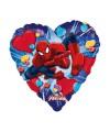 "PALLONCINI SPIDERMAN LOVE PZ.1 MYLAR TONDO 18"" CM.45"
