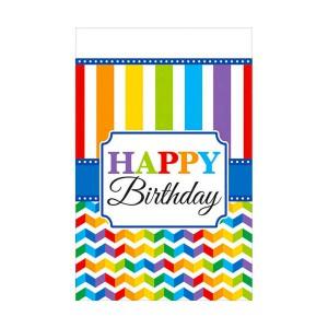 TOVAGLIA HAPPY BIRTHDAY LUMINOSA PZ.1 CM.137 X CM.259 PLASTICA