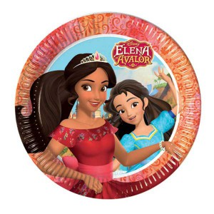 Piatti Elena of Avalor pz.8 cm.23