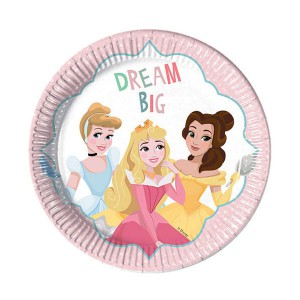 PIATTI PRINCIPESSE DARE TO DREAM PZ.8 CM.23
