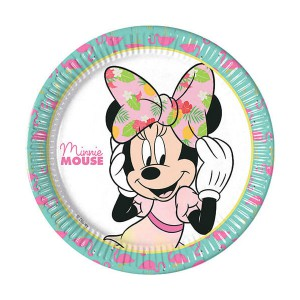 PIATTI MINNIE TROPICAL DISNEY PZ.8 CM.23