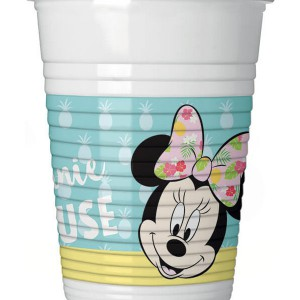 BICCHIERI MINNIE TROPICAL DISNEY PZ.8 200CC