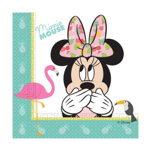TOVAGLIOLI MINNIE TROPICAL DISNEY PZ.20 CM.33X33