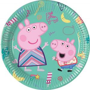 PIATTINI PEPPA PIG MESSY PLAY PZ.8 CM.20