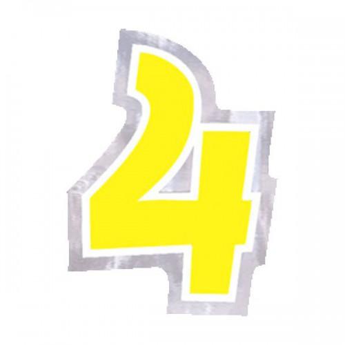 ADESIVO NUMERO 4 PZ.48