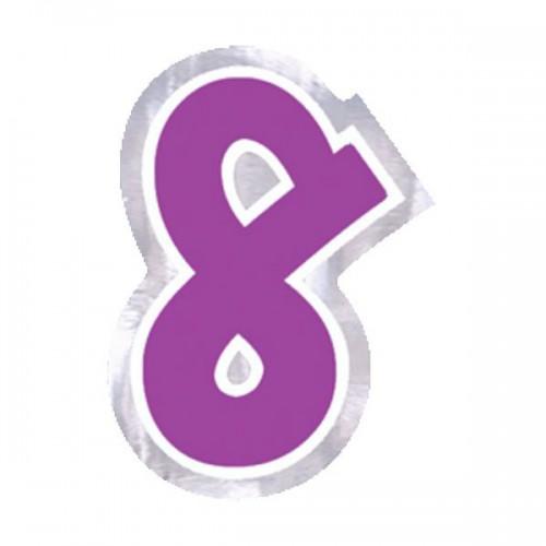 ADESIVO NUMERO 8 PZ.48