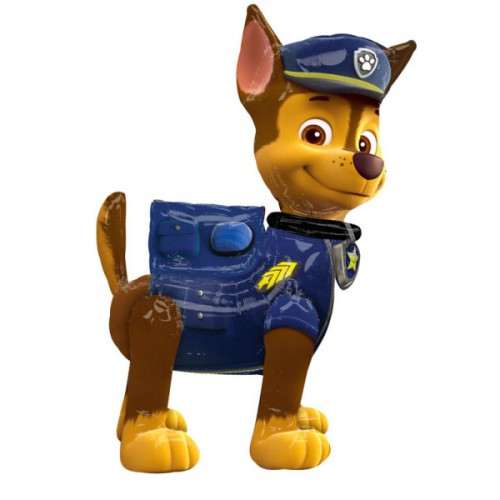 PALLONCINO PAW PATROL CHASE PZ.1 MYLAR AIRWALKERS CM.137 X CM.93