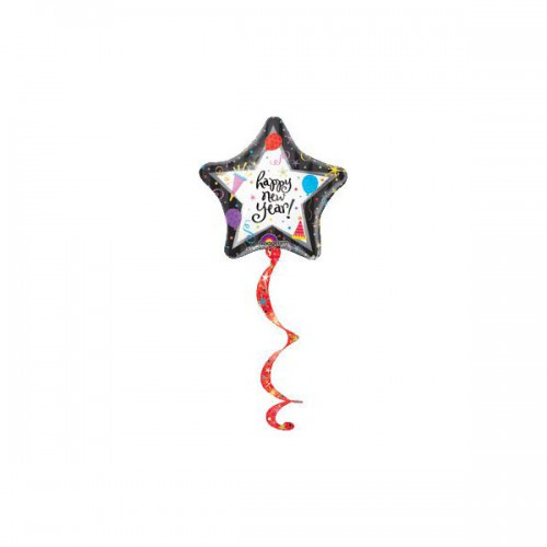 PALLONCINO HAPPY NEW YEAR PZ.1 CM.130