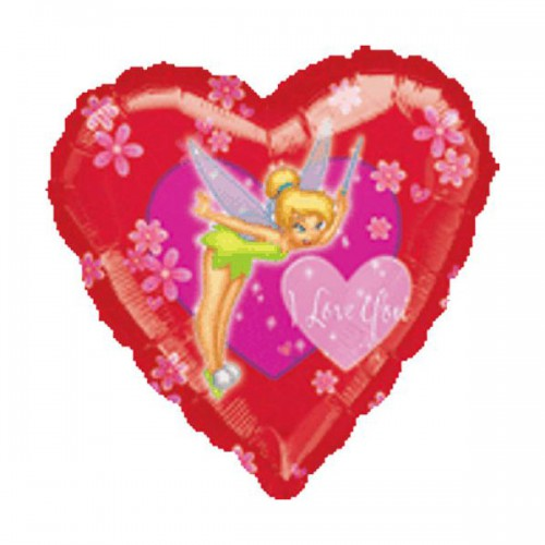 "PALLONCINO TRILLY I LOVE YOU PZ.1 MYLAR CUORE 18"" CM.45"