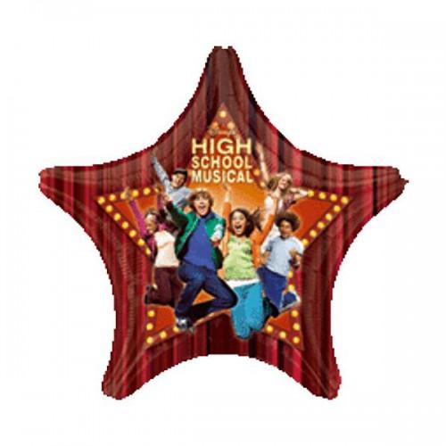 "PALLONCINO HIGH SCHOOL MUSICAL PZ.1 MYLAR STELLA 32"" CM.81"