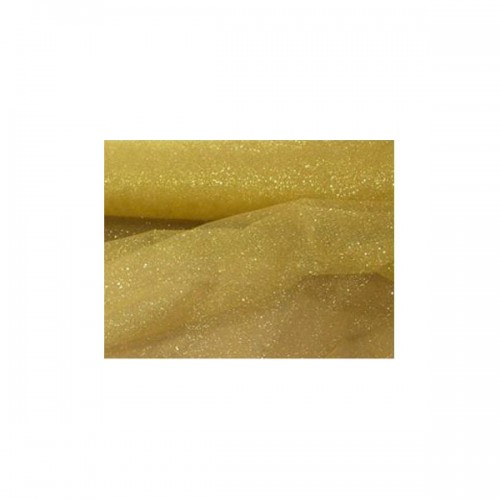 TULLE GLITTER ORO PZ.1 H. CM.12.5 XMT.100
