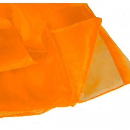 ORGANZA ARANCIO PZ.1 TELO CM.150 X CM.300