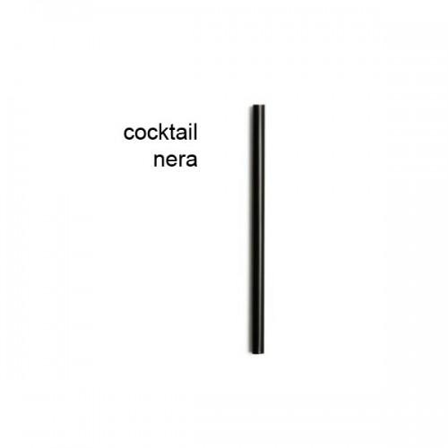 CANNUCCE COCKTAIL NERA PZ.1000 CANNUCCE NON INCARTATE Ø 7,0 x 130mm