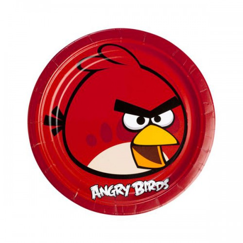 PIATTI ANGRY BIRDS PZ.8 CM.23