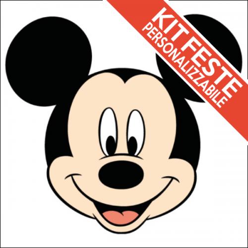 Kit Festa Di Compleanno Topolino Mickey Mouse