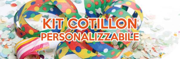 kit personalizzabile cotillon